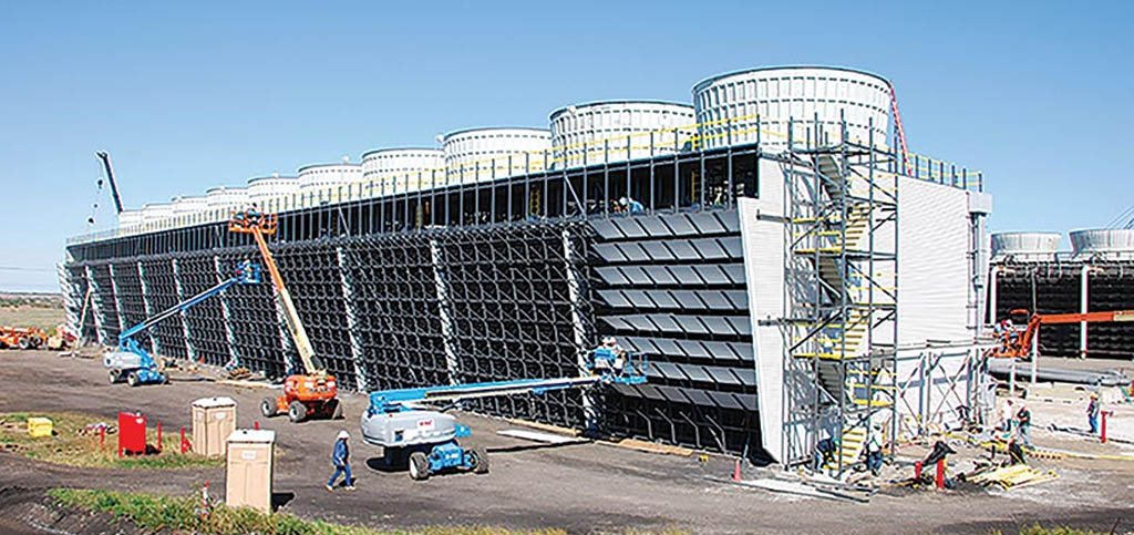 Cooling tower construction company